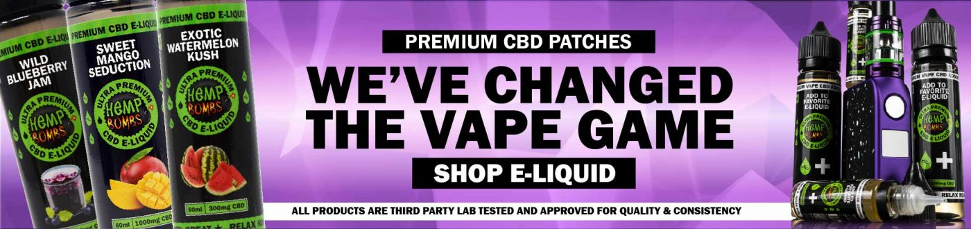 CBD Vape Oil Hemp Bombs