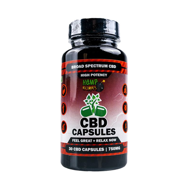 30-Count High Potency CBD Capsules
