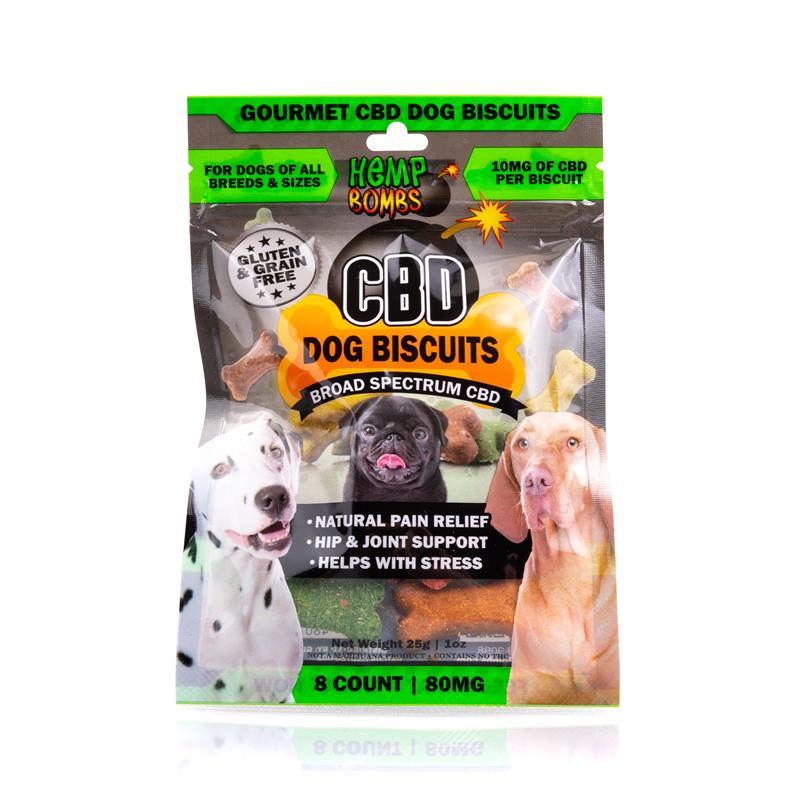 CBD oil for dogs: CBD Dog Biscuits 8-Count
