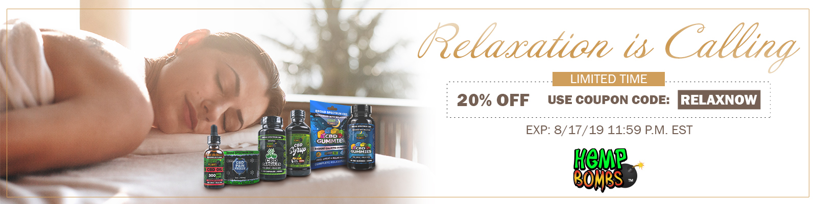 CBD For Relaxation discounts
