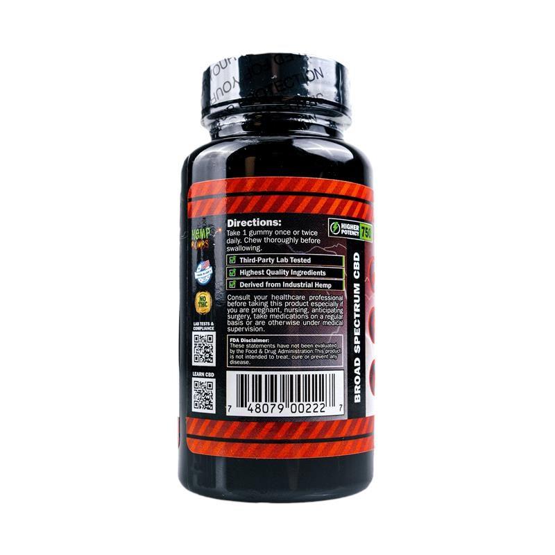 CBD Gummies High Potency 30ct
