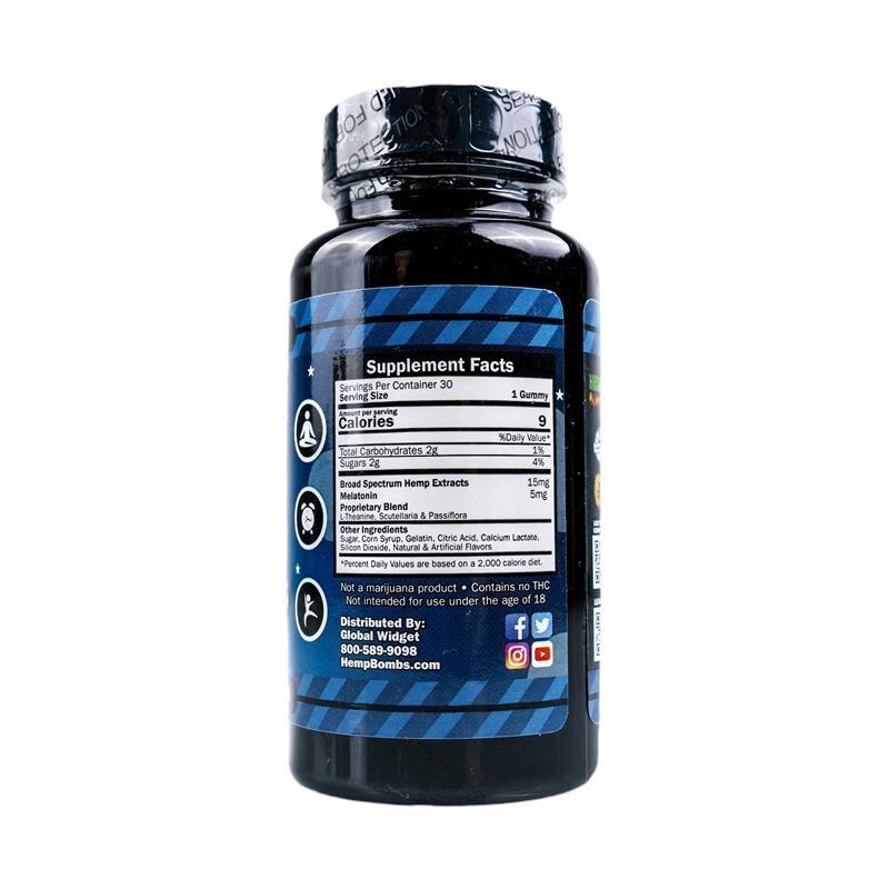 30-Count CBD Sleep Gummies with Melatonin