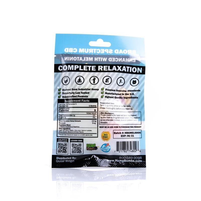 CBD Gummies for Sleep with Melatonin 5-count