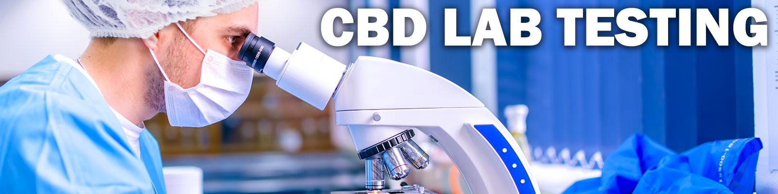 Scientist conducting CBD Lab Testing