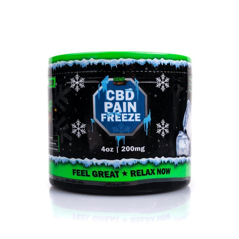 CBD Pain Freeze 4 oz