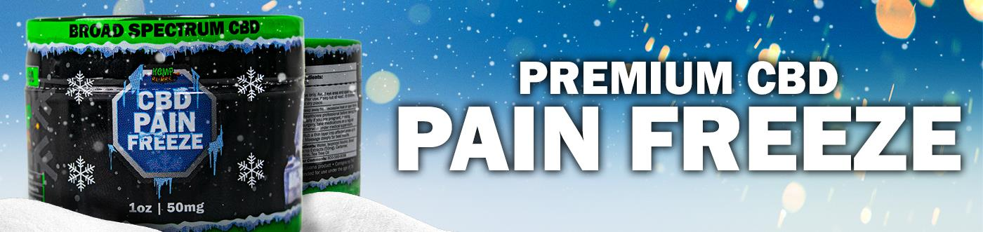 CBD pain relief rub