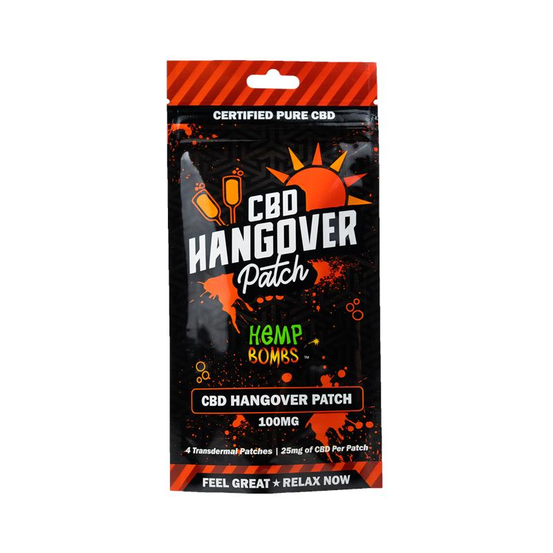 CBD Patches with B vitamins for hangovers