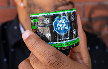 High Potency CBD Pain Relief Rub