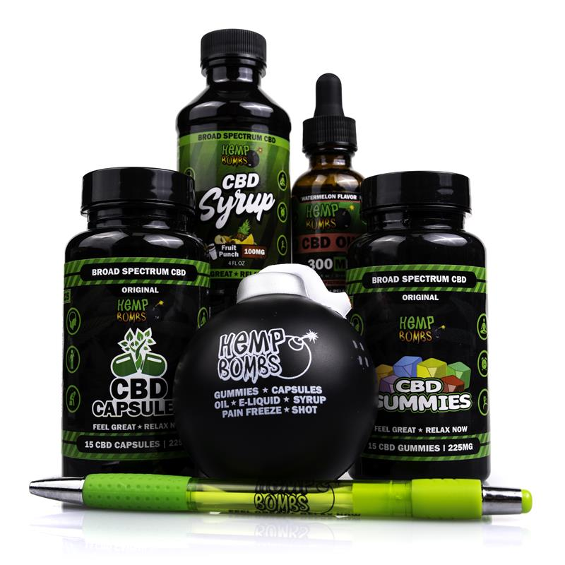 Hemp Bombs Edibles CBD Bundle