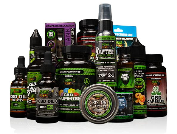 hemp bombs products
