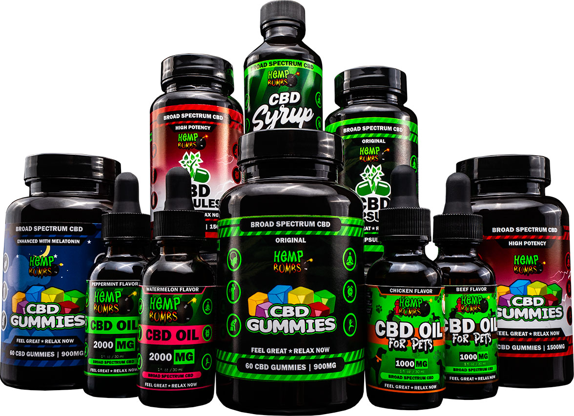 hemp bombs products 2