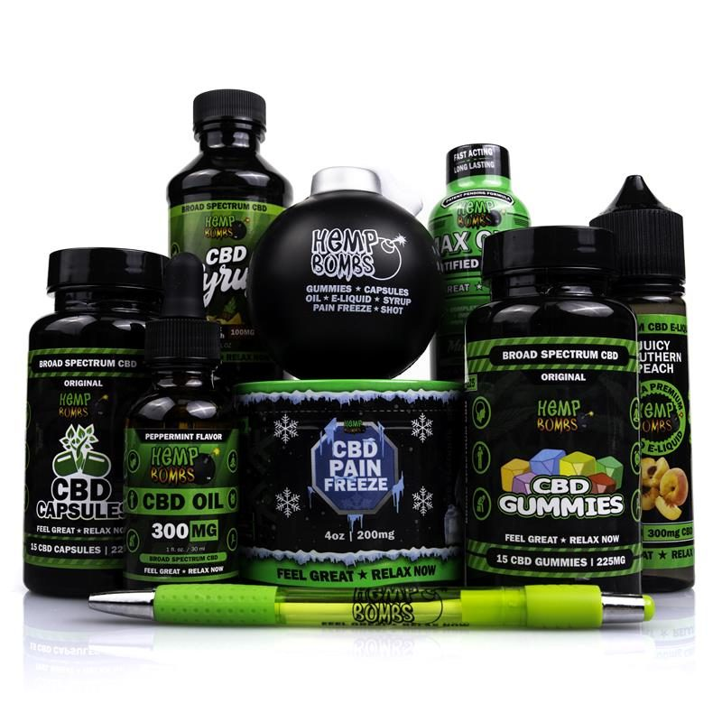 Hemp Bombs Premium CBD Bundle