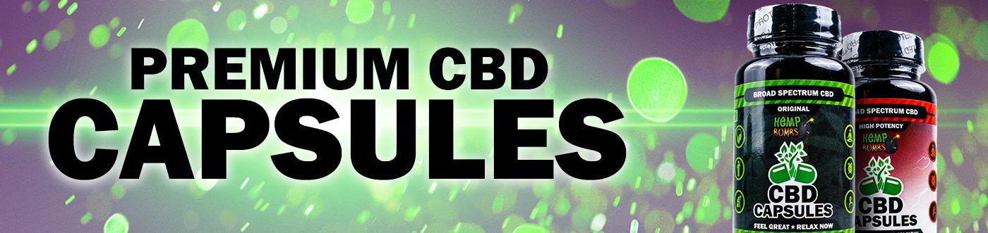 Premium CBD Capsules banner