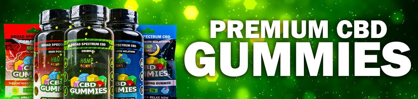 Premium CBD Gummies banner