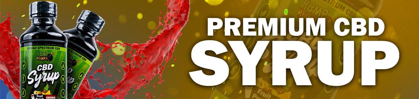 Premium CBD Syrup banner