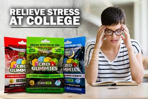 CBD-infused Gummies for Stress in College