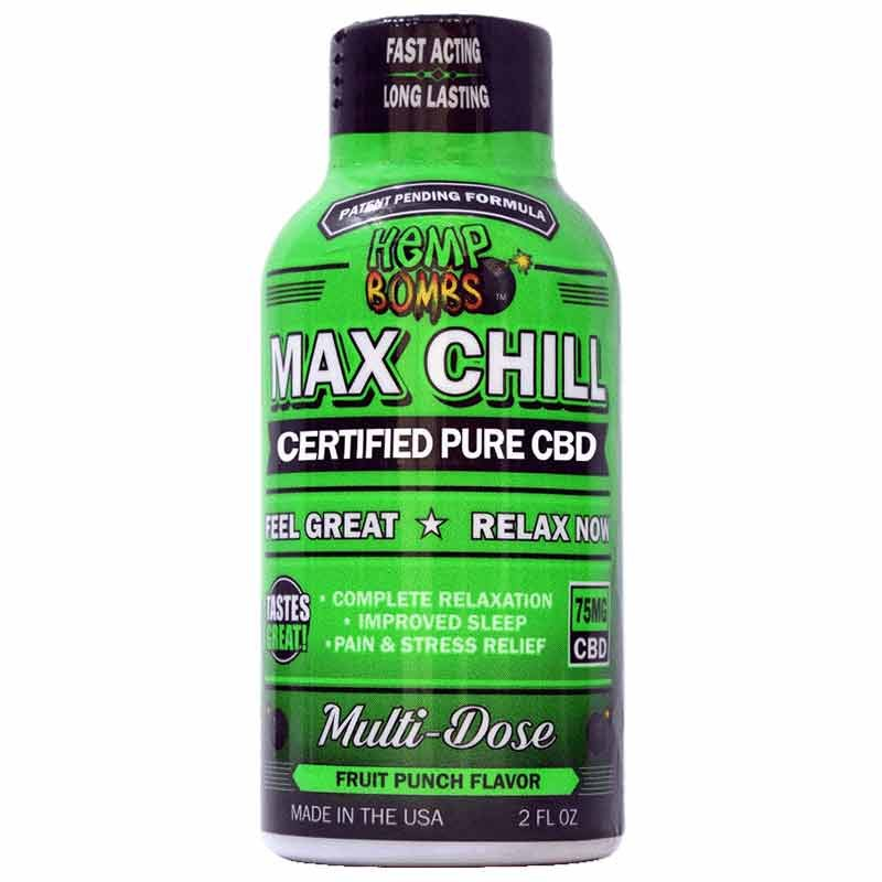 cbd max chill shot