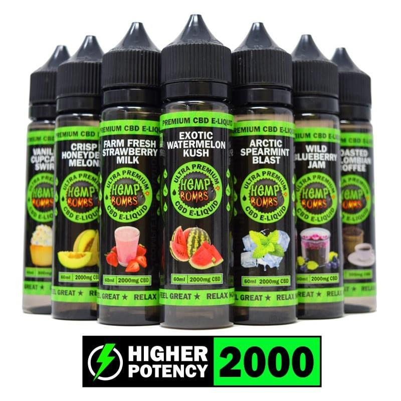 CBD Vape E-liquid 2000mg