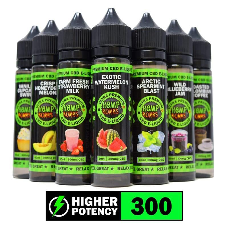 CBD Vape E-liquid 300mg