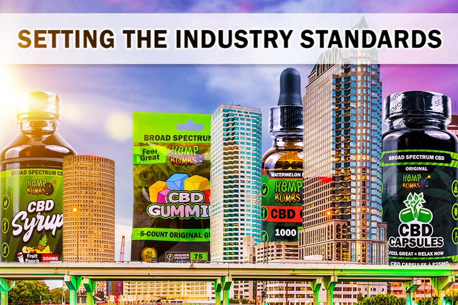 Setting Industry Standards with CBD