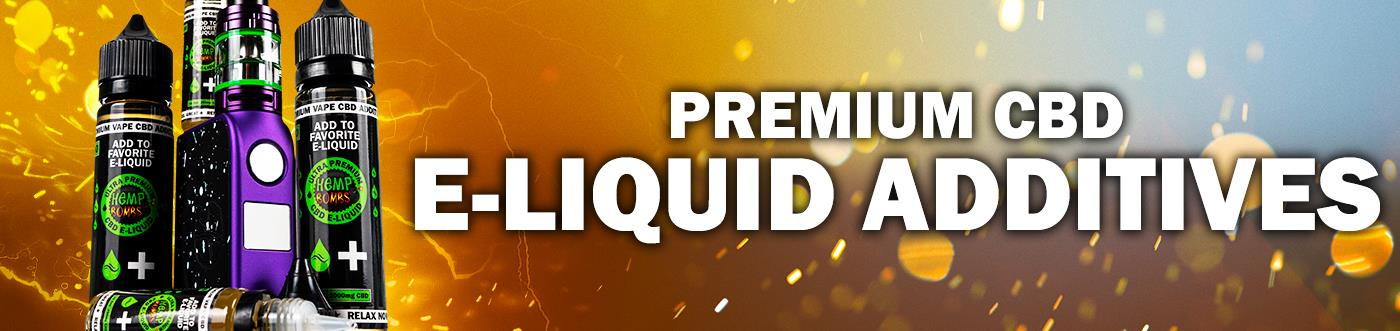 CBD E-Liquid Additives from Hemp Bombs
