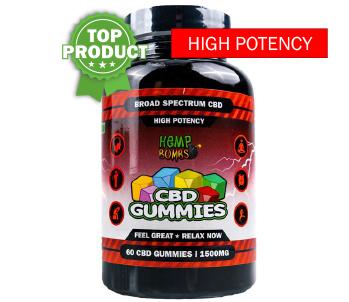 CBD Gummies 60CT Bottle