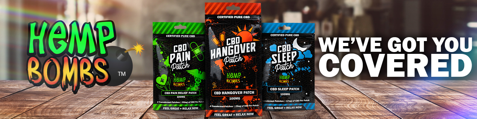 CBD Patches for Sleep, Pain and Hangover