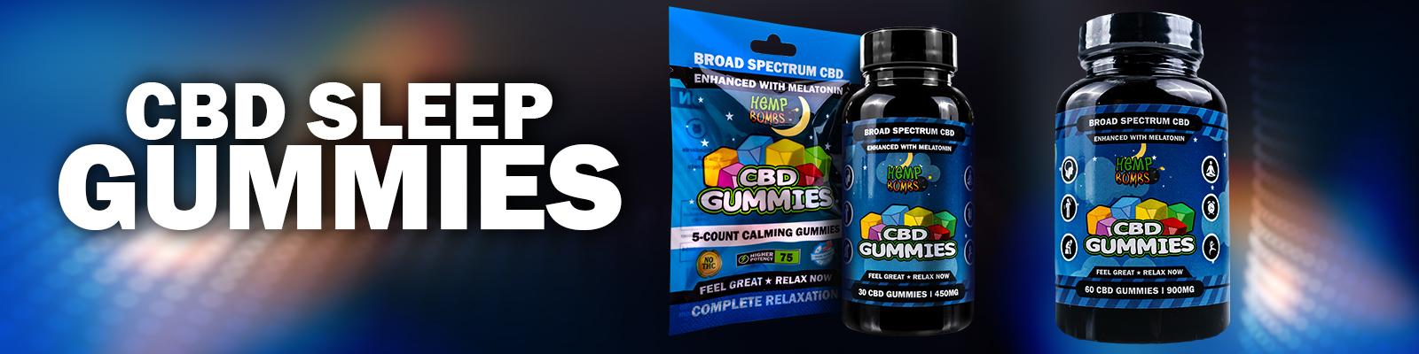 CBD gummies for sleep with melatonin
