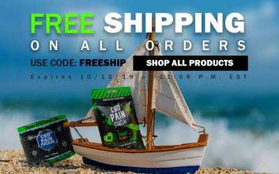 CBD Sale Columbus Day Free Shipping