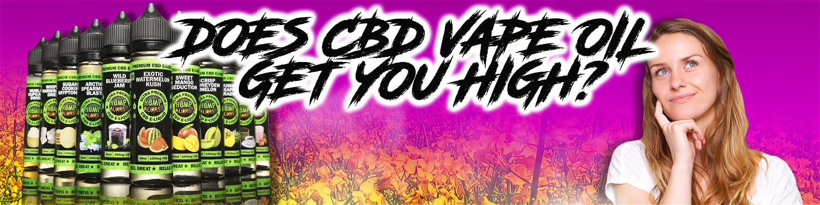 Does CBD Vape Oil Get You High