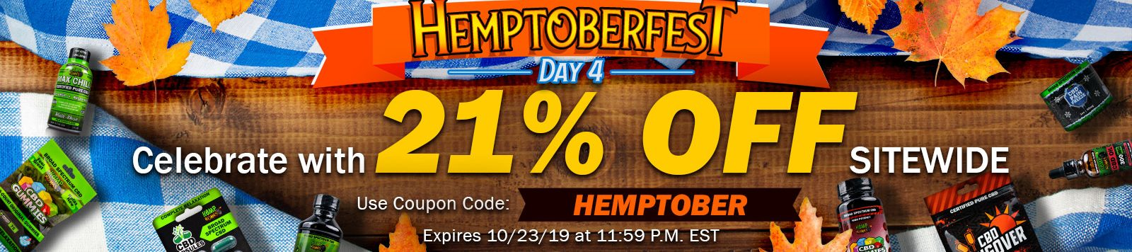 Hemptoberfest online hemp festival day 4 offer