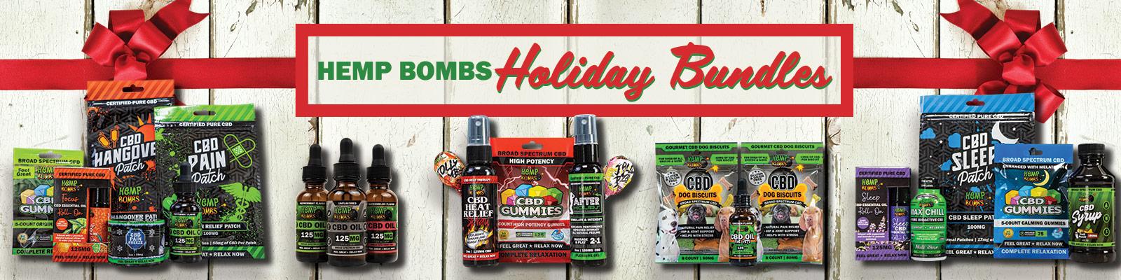 Hemp Bombs Holiday Bundles