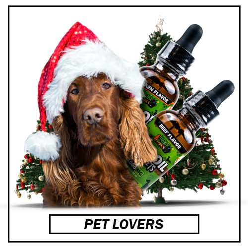 Holiday CBD Products for Pet Lovers