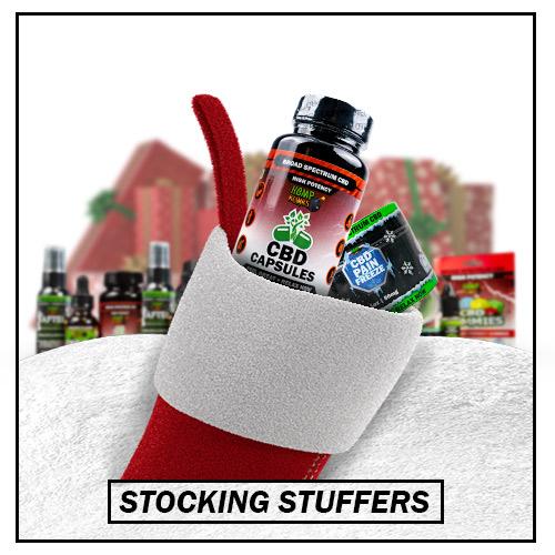 Holiday CBD Gifts - Stocking Stuffers