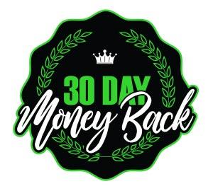 We offer a 30 day money back guarantee on our CBD products