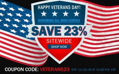 CBD For Veterans Day Sale mobile