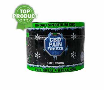 Best CBD Pain Rub | Pain Freeze