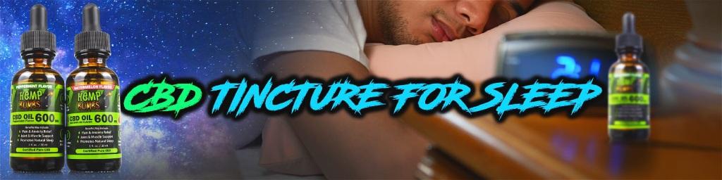 CBD Tincture for Sleep