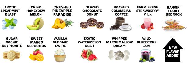 CBD Vape Flavors