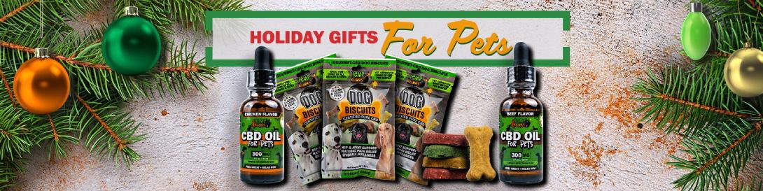 CBD holiday gifts for pets
