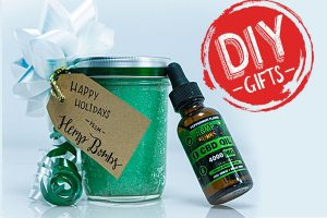 DIY Holiday Gifts with CBD
