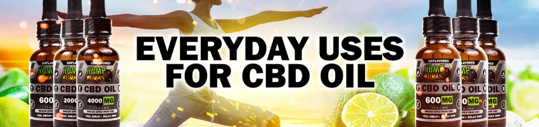 Everyday Uses for CBD Oil