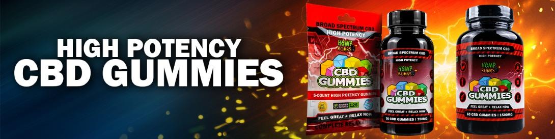 High Potency CBD Gummies