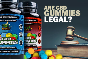 Legal CBD edibles