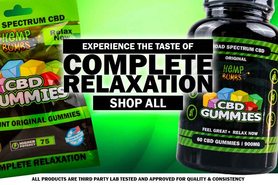 Experience Complete Relaxation Mobile CBD Banner