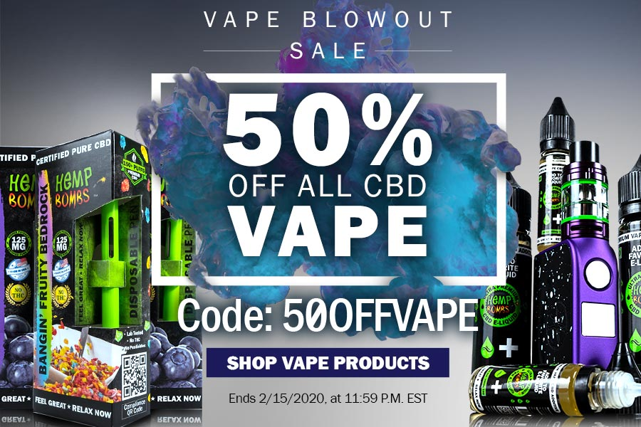 Mobile CBD Vape Products 50% Off Code: 50OFFVAPE