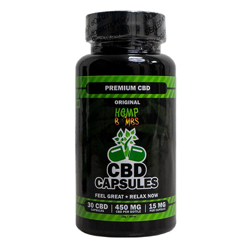 Hemp Bombs CBD Capsules 30-Count