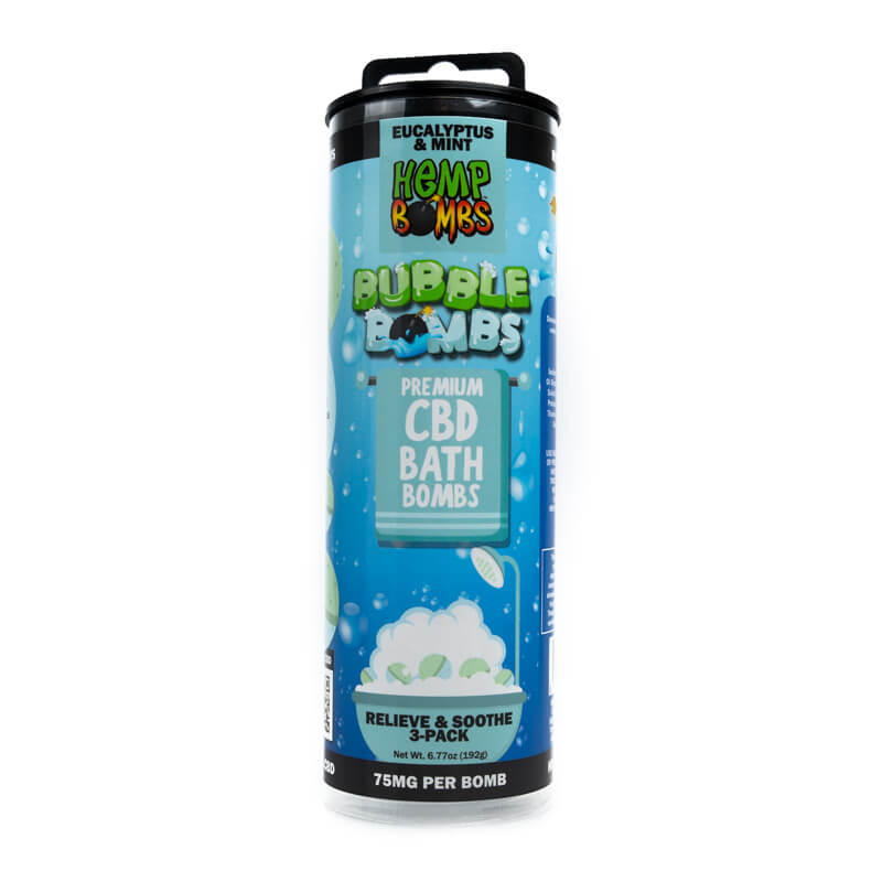 Hemp Bombs Relieve & Soothe CBD Bath Bombs