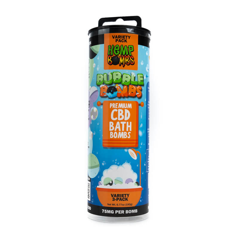 Hemp Bombs CBD Bath Bombs
