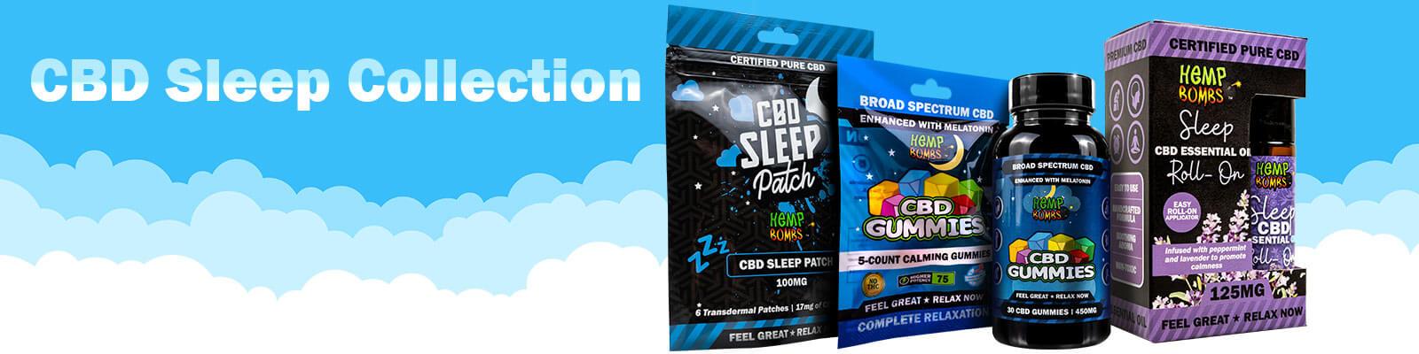 Hemp Bombs CBD for Sleep Collection